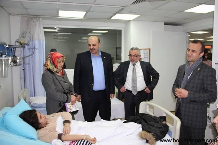 Hastane ziyareti 2