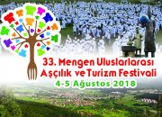 33. Mengen Uluslararası Aşçılık ve Turizm Festivali 4 – 5 Ağustos 2018 'de Yapılacak