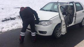 Tem Otoyolu Kuzörenemirler Köyü Mevkiinde Trafik Kazası