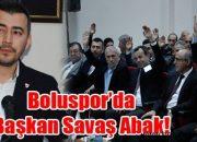 PTT 1. Lig Boluspor'da Savaş Abak Başkan Seçildi